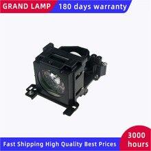 Ersatz Projektor Lampe DT00757 für HITACHI CP X251 CP X256 ED X10 ED X1092 ED X12 ED X15 ED X20/X22 mit gehäuse GLÜCKLICH BATE