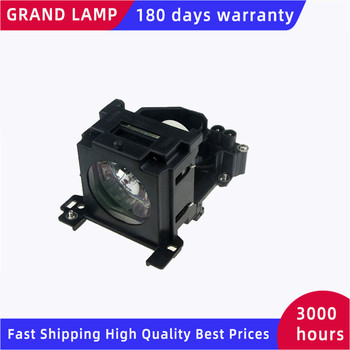Replacement Projector Lamp DT00757 for HITACHI CP-X251 CP-X256 ED-X10 ED-X1092 ED-X12 ED-X15 ED-X20/X22 with housing HAPPY BATE
