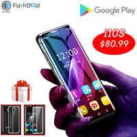K-Touch i10S più piccolo telefono cellulare sbloccato mini Smartphone android 8.1 Google Play telefoni Cellulari MTK6580 Quad Core smart telefono