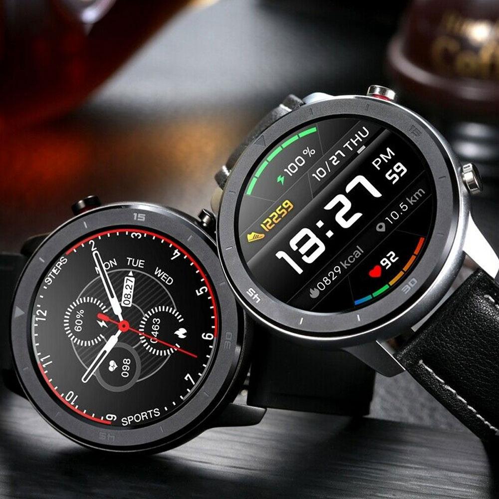 NO.1 DT78 Smart Watch IP68 1.3inch Sport Men Women Wearable Running Track Call Reminder Heart Rate Bluetooth Music
