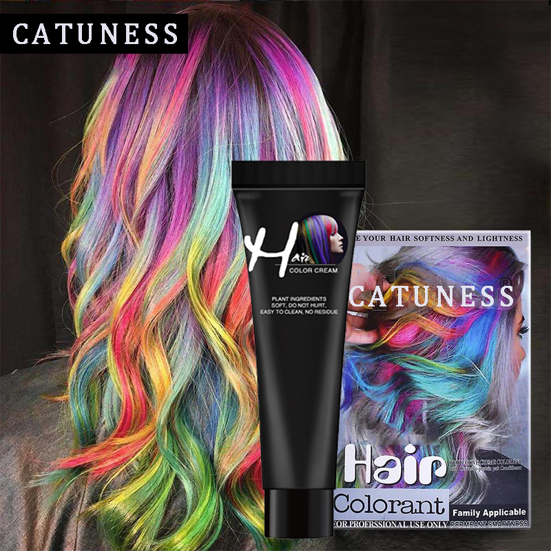 No Irritation Hair Cream Color Dye Paint Long Lasing Hair Styling No Odor Hair Color Cream Neutral Hair Tint Fashion Popular
