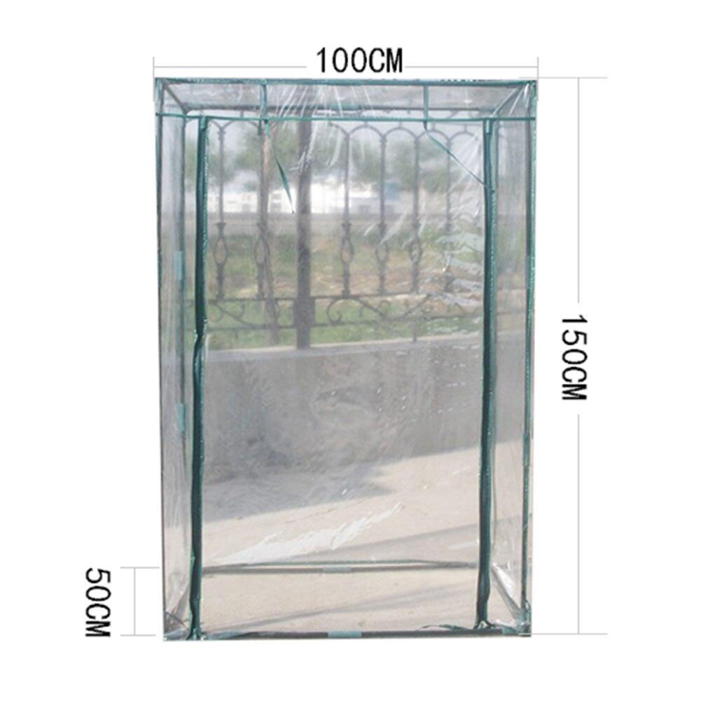 Переносная теплица ПВХ покрытие для растений, защита от УФ, водонепроницаемое покрытие для растений из ПВХ, томатные растения, садовый тент ...