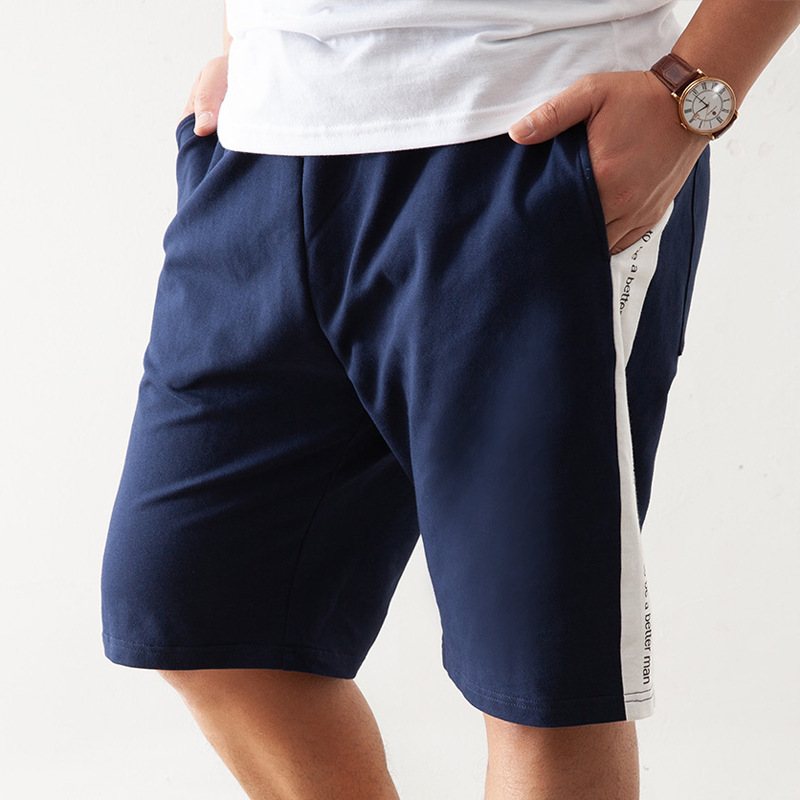 Cpcoepax Shorts Plus-sized Lard-bucket Beach Athletic Pants Fat 5 Pants Youth MEN'S Trousers 1901