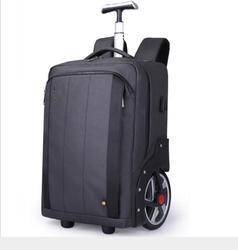 Männer Reise trolley Roll Gepäck rucksack taschen auf rädern rädern rucksack für Business Kabine tragen auf gepäck tasche räder