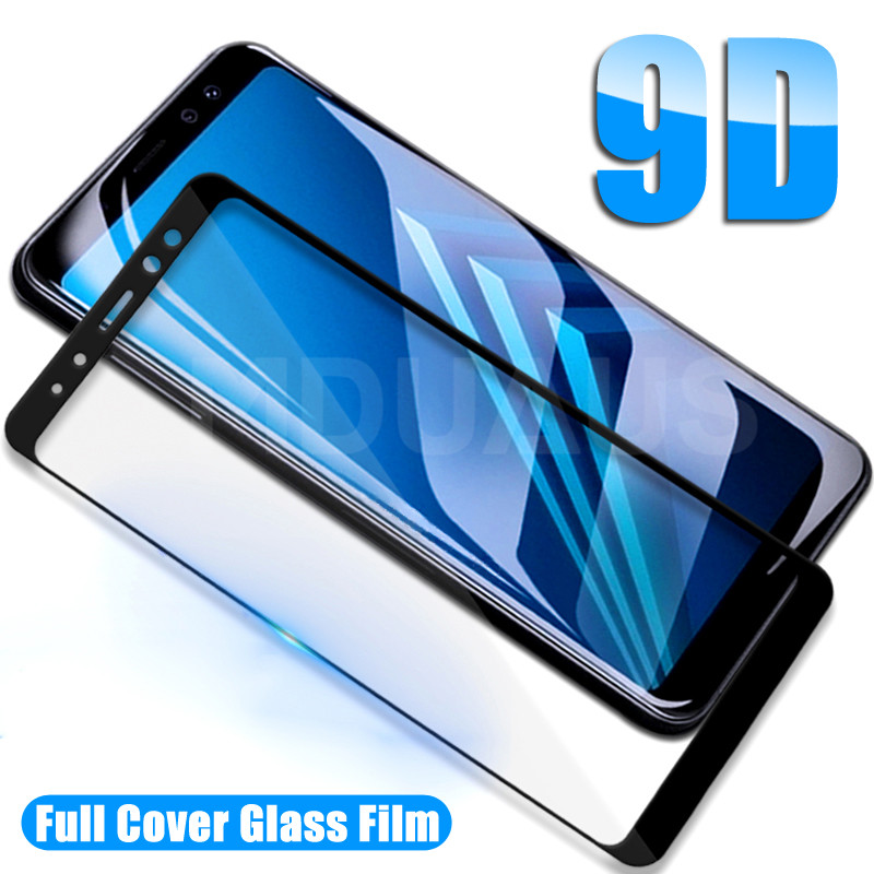 9H Protective Glass On The For Samsung Galaxy A5 A7 A3 2016 2017 A6 A8 Plus A9 2018 Tempered Glass Screen Protector Safety Film