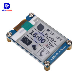 """Image 3 - diymore 1.54"""" e Paper Module 200*200 Electronic Ink Display SPI Interface for Raspberry Pi Arduino STM32"""