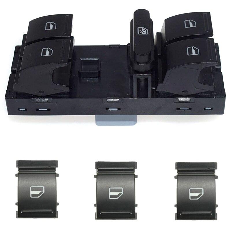 Electric Power Master Window Switch Button Set For Sagitar Golf 5 Golf 6 Jetta MK5 Mk6 Tiguan Touran Passat B6 B7 1K4959857B 1F0