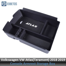 Подлокотник для хранения перчаток для Volkswagen Atlas центральная консоль Органайзер лоток Teramont аксессуары для интерьера