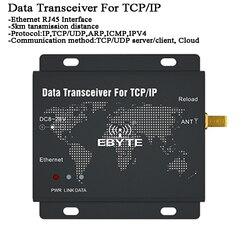 5km Ethernet Draadloze Data Transceiver RJ45 LoRa Gateway modbus SX1262 SX1268 GPS Tracker/Netwerk relais tansmitter Radio modem