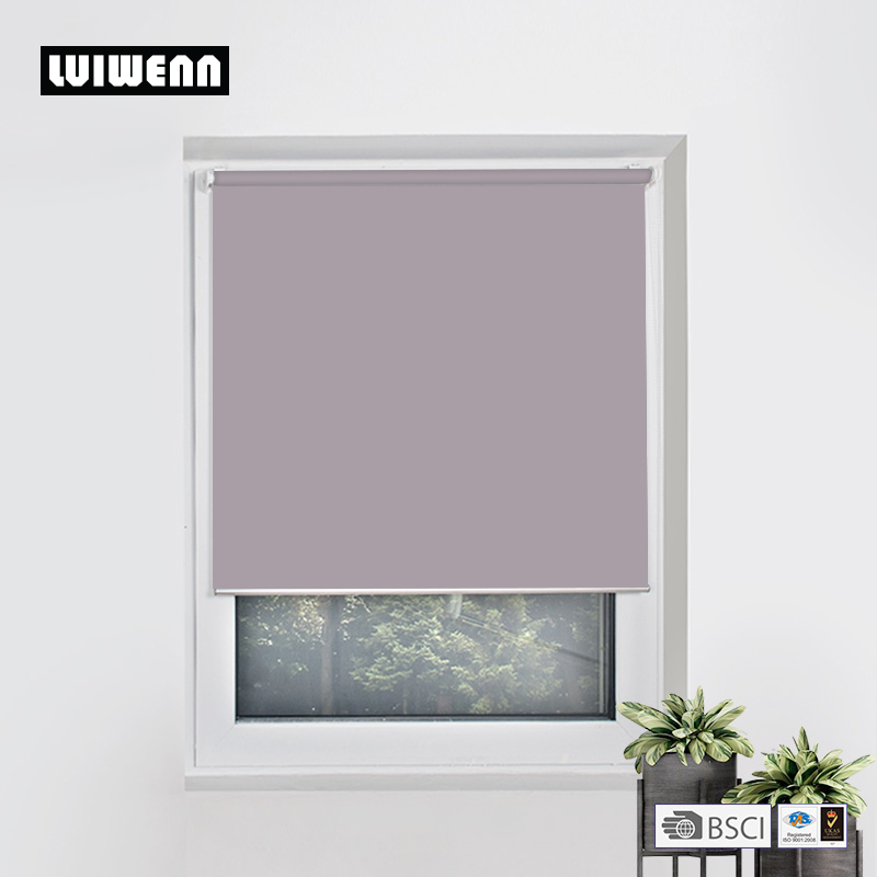 Various Colors Customized Size Mini Roller Blinds Free Drill Easy