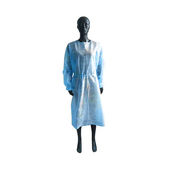 Disposable Protection Gown Dust Spray Suit Siamese Non-woven Dust-proof Anti-rain Splash Clothing Safely Protection Clothes 5