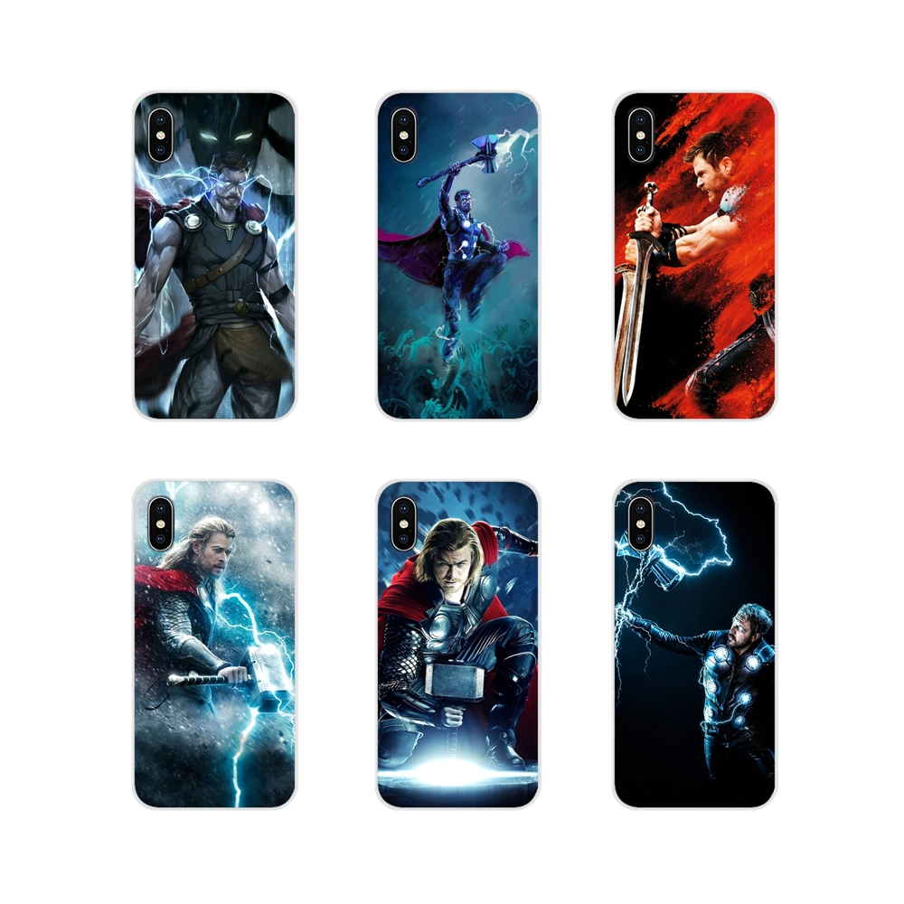 Accessories Phone Shell Covers Marvel movie thor For Samsung Galaxy S2 S3 S4 S5 Mini S6 S7 Edge S8 S9 S10E Lite Plus image