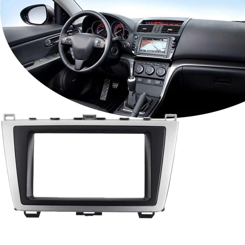 2Din стерео радио DVD панель аудио монтажный комплект для Mazda 6 Atenza 2009 2010 2011 2012 2013