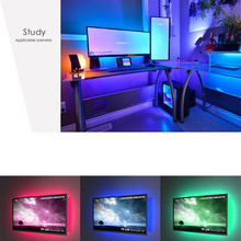 5V USB LED Strip light RGB 2835SMD Flexible LED light Tape Ribbon 1M 2M 3M 4M 5M HDTV TV Desktop Screen Backlight Bios lighting