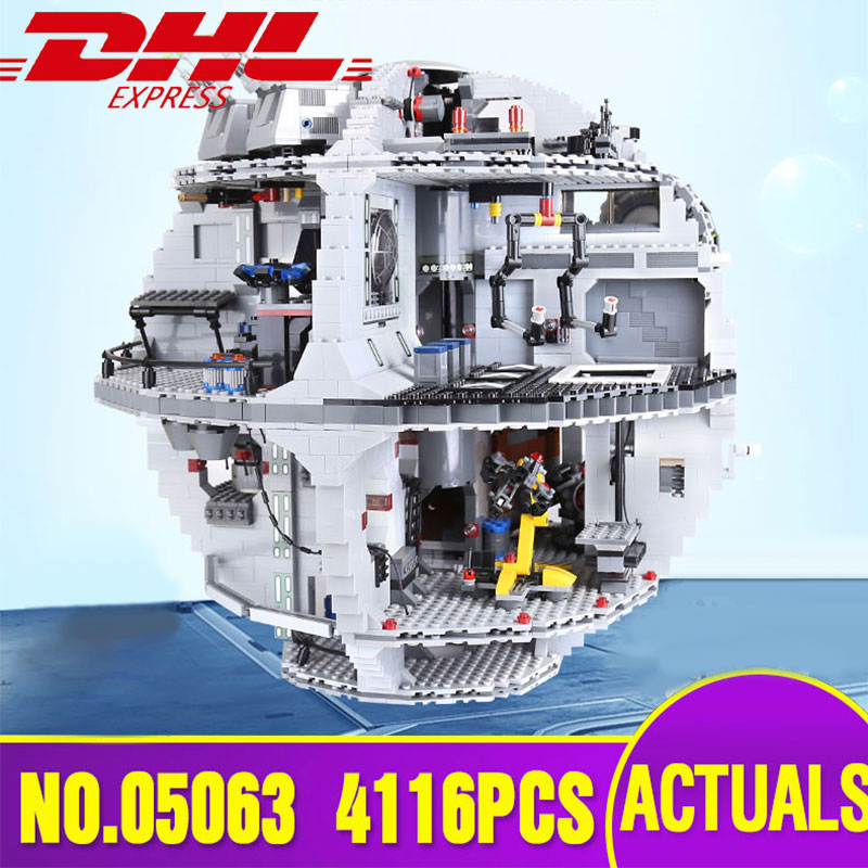 05063 05035 Star Plan Wars The 10188 Death Star Building Block Brick Toys Compatible With Lepining 75159 Kid Toys Christmas Gift