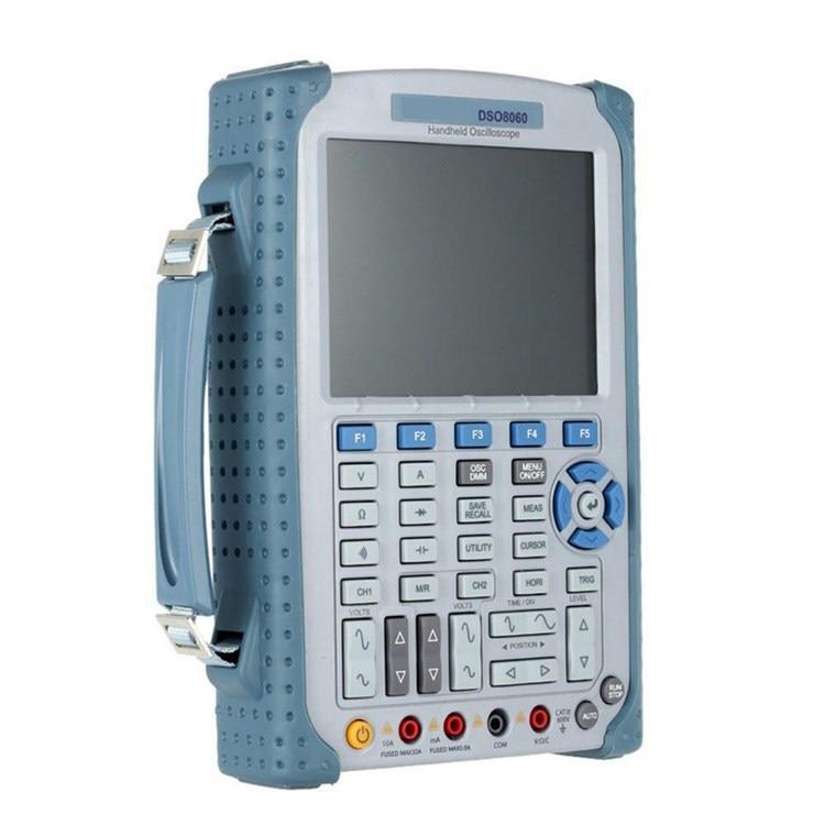 5 in 1 Handheld Oscilloscope Spectrum Analyzer Arbtrary Waveform generator Multiform trigger mode Oscilloscope Color LCD Display Oscilloscopes     - title=