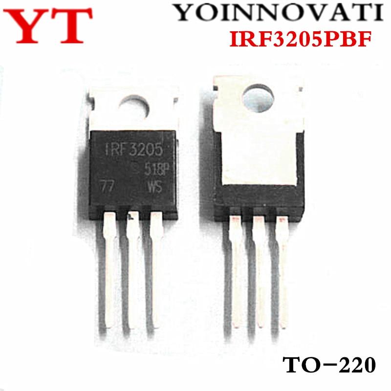 50pcs/lot IRF3205 IRF3205PBF TO-220 55V 110A 200W