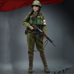 1/6 scale Chinese People's Liberation Army Ten Sisters Rescue Team Female Soldier 12 inch action figure toy collection