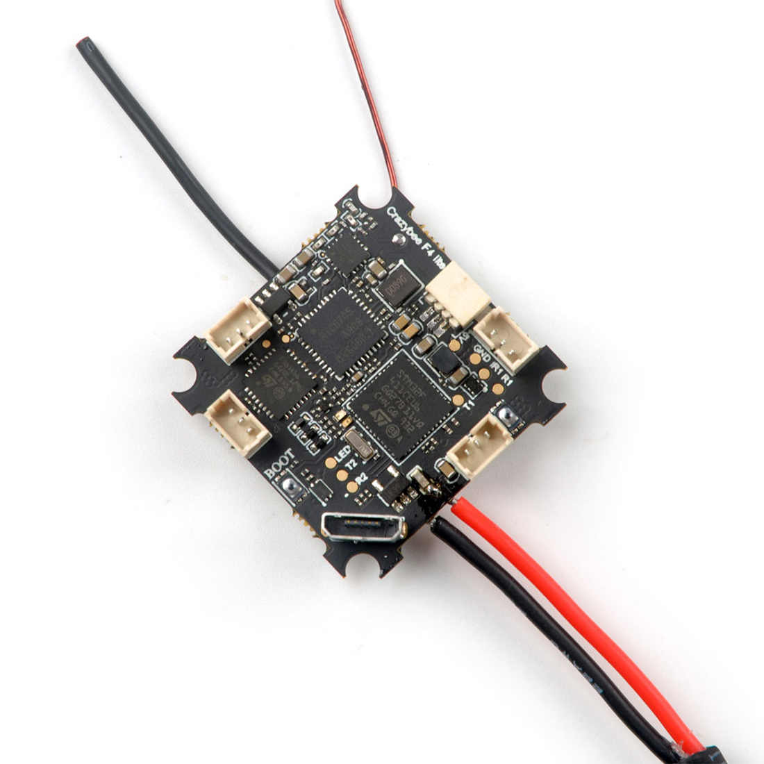 Happymodel Crazybee F4 Lite 1S Flight Controller Built-in 5.8G VTX FC//ESC//RX//VTX