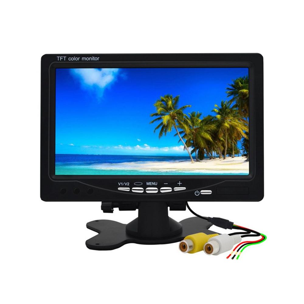 Display-Monitor Camera Rearview Car-Tv-Display Car-Headrest Reverse-Backup Wifi 7inch