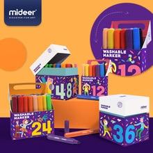 MiDeer 12/24/36/48PCS Colors Drawing Painting Watercolor Art Marker Pens Tip Brush Pens Washable Watercolor Pen Art Supply