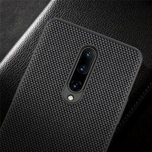 Image 5 - ניילון סיבי מגן מקרה עבור OnePlus 8/8 פרו טלפון נייד Ultra slim חזרה כיסוי עמיד הלם דיור פגז מקרה עבור onePlus 8