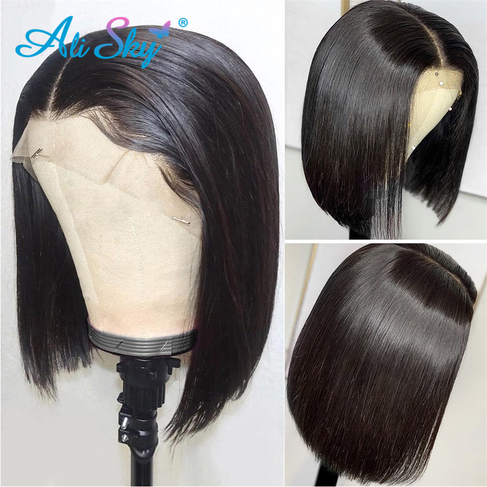 HJ-Weave-Beauty-13x6-Short-Lace-Front-Human-Hair-Wigs-Straight-Bob-Wig-Pre-Plucked-Hairline