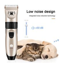 цена на Professional Pet Dog Hair Trimmer Animal Grooming Clippers Cat Cutter Machine Shaver Electric Scissor Clipper