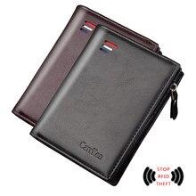 2021 New Short Wallet men Purse for men Card Holder small Wallets slim men's wallet purse leather wallet