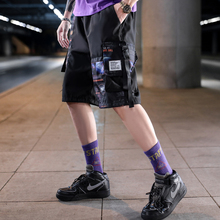 Short Pants Men Casual Hip Hop Pocket Streetwear Loose Cargo