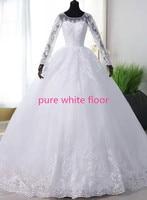 pure white floor