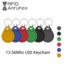 5/10PCS RFID Access Control Clone Badge NFC Smart Chip 0 Block Rewritable Copy Key Fob 13.56MHZ 1K S50 Duplicator Copy Tag