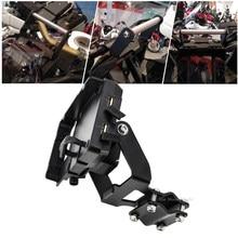 Motosiklet standı tutucu telefon cep telefon GPS navigasyon için plaka braketi Honda afrika e n e n e n e n e n e n e n e n e n e CRF1000L 2018-2019
