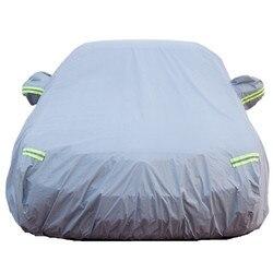 نمط جديد سيارة لوازم زائد سميكة القطن غطاء سيارة دليل غطاء سيارة للماء الشمس مقاومة غطاء سيارة سيارة تشينغ غطاء سيارة