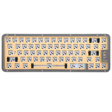 DNA65 65% Kit Custom Mechanical Keyboard Kit PCB CASE hot swappable switch support lighting effects with RGB switch led