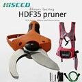 Hiseed 400 Вт электрические ножницы Электрический садовый секатор 43 2 в литиевая батарея секатор ножницы садовые ножницы для фруктовых деревьев