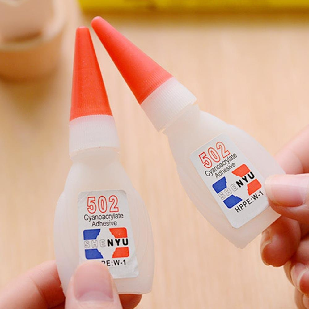 Dropshipping 2pcs High Quality 502 Super  Multi-Function Glue Genuine Cyanoacrylate Adhesive Strong Bond Fast For Office Tools