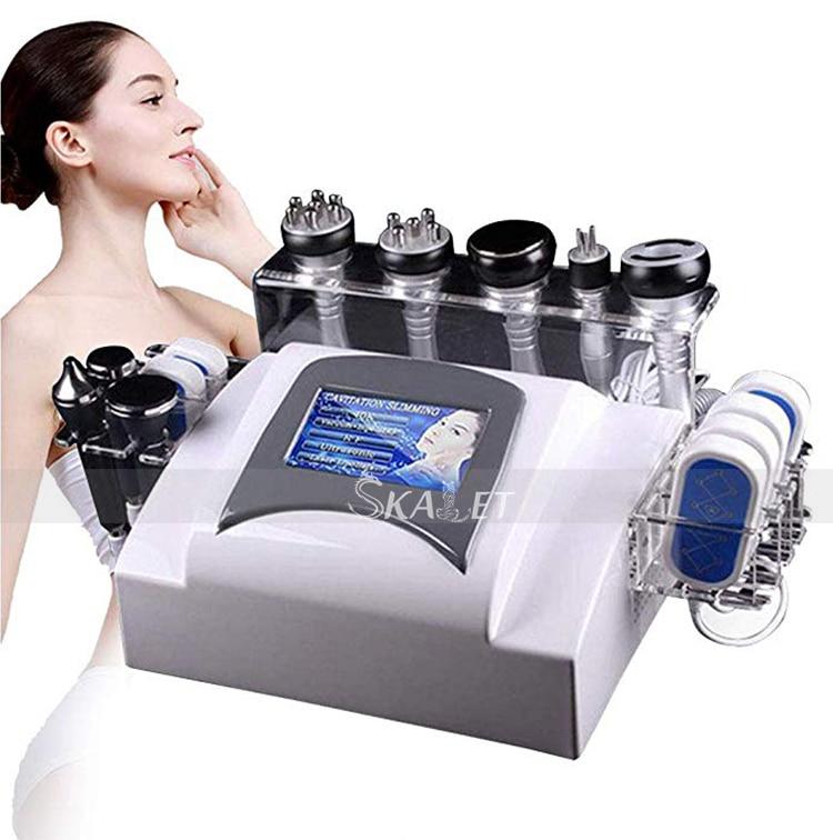 7 w 1 liposukcja ultradźwiękowa podciśnienie Instrument częstotliwości radiowej laserowe urządzenie do utraty wagi z włókna szklanego