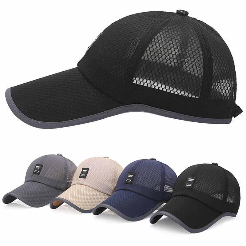 Baseball Cap Women Outdoor Baseball Hat Breathable Men Women Summer Mesh Cap New