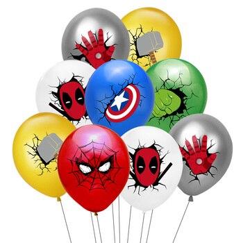 55 x 63CM 3D Spiderman Iron Man Hero Aluminum Foil Balloons Birthday Party Decoration Baby Shower Supplies Globos 10