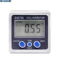 Digital Bevel Box Angle Gauge Meter mini Digital Protractor 360 degrees Magnets Base Digital Inclinometer Electronic protractor