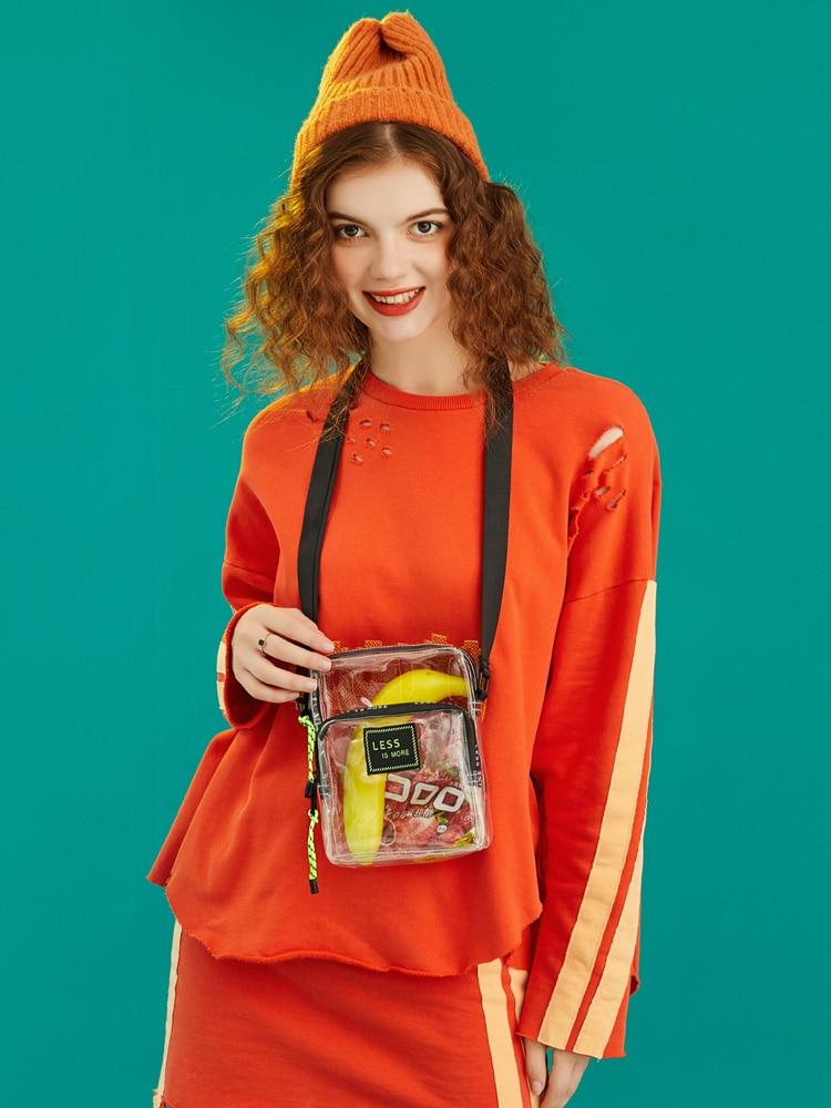 FULANPERS Transparent Small Crossbody Bags For Women 2020 Messenger Bags Female Fashion Girls Clear Mini Shoulder Bag