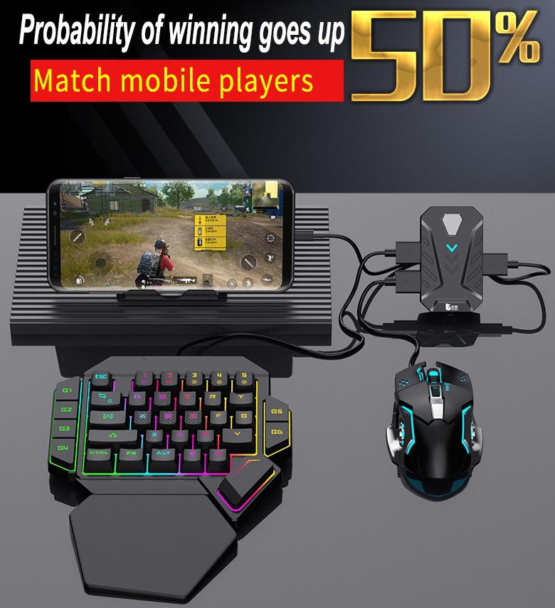 Game Converter  5.0  Mobile Controller Gaming Keyboard Mouse Converter for Android and iOS