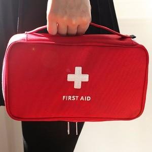 Image 4 - ชุดปฐมพยาบาลสำหรับยากลางแจ้งCamping Medicalกระเป๋าSurvivalกระเป๋าถือฉุกเฉินชุดชุดเดินทางแบบพกพา