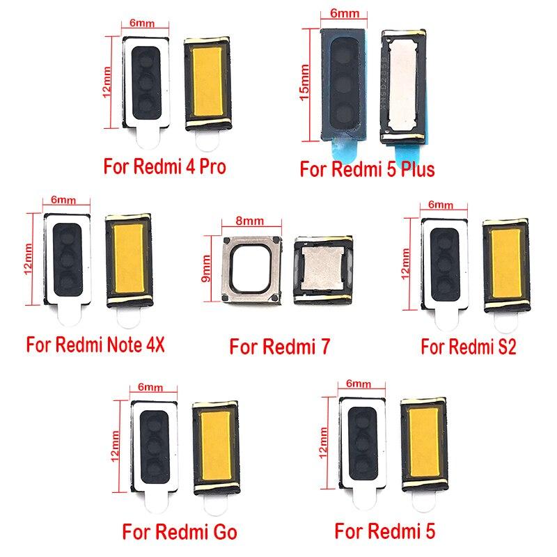 2pcs/Lot , Earpiece Ear Speaker Receiver For Xiaomi Redmi Go S2 4A 5 Plus 7 7A Note 4X 5 5A 6 7 Pro