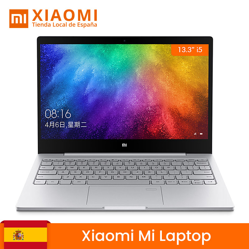 Global Version Xiaomi My Laptop 13.3 Inch Air Laptop 8G RAM 256G SSD Intel Quad-Core I5 8250U GeForce MX150 DDR4