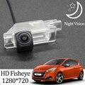 Owtosin HD 1280*720 рыбий глаз камера заднего вида для Peugeot 208 2012 2013 2014 2015 2016 2017 2018 автомобильные аксессуары для парковки заднего хода