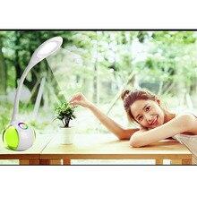 T1 лампа Bluetooth динамик Многофункциональный креативный сенсорный кнопочный красочный светильник защита глаз обучающая лампа аудио сабвуфер