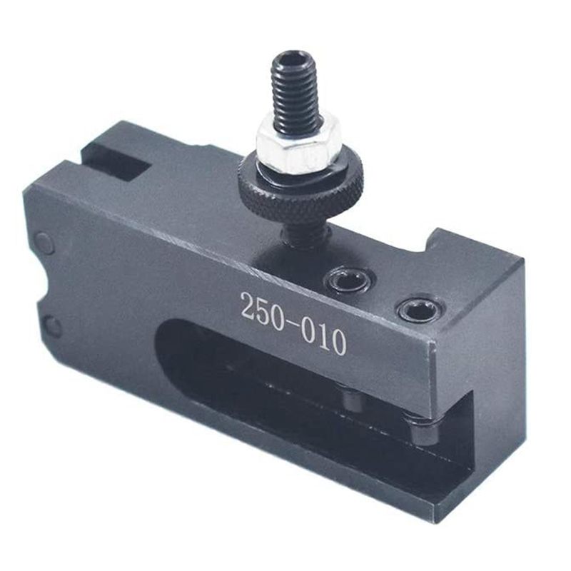HOT-CNC Tool Post Holder 250-010 Quick Change Knurling Turning & Facing Lathe Tool Post Holder