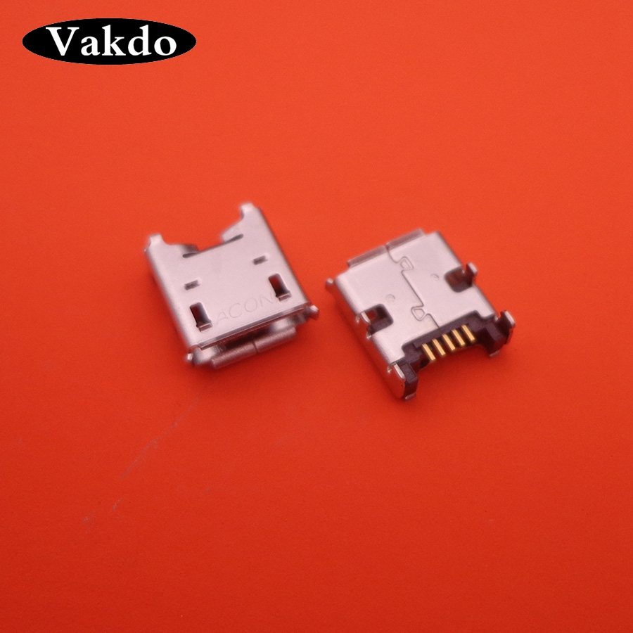 50pcs/lot Repair parts 5-pin Mini Micro USB Jack connector socket for tablet pc Acer Iconia Tab B1-A71 A71 B1-711 B1 711 B1-710